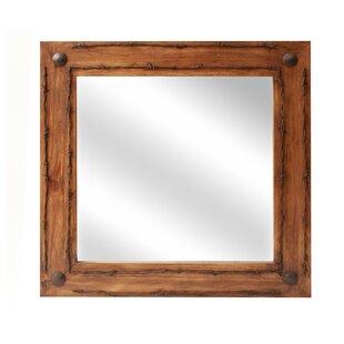 Loon Peak Lafollette Old Ranch Bathroom/Vanity Mirror
