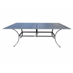 Newport Beach Metal Dining Table by Panam..