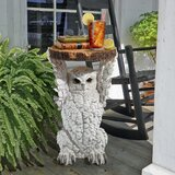 Wisdom Owl Sculptural Side Table