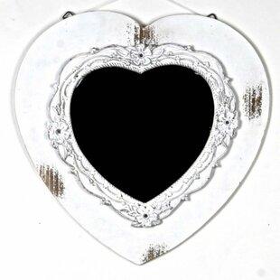 August Grove Frankston Wooden Accent Mirror