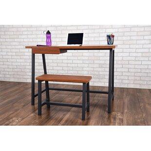 Ebern Designs Gaspar Student Dorm Desk and Stool