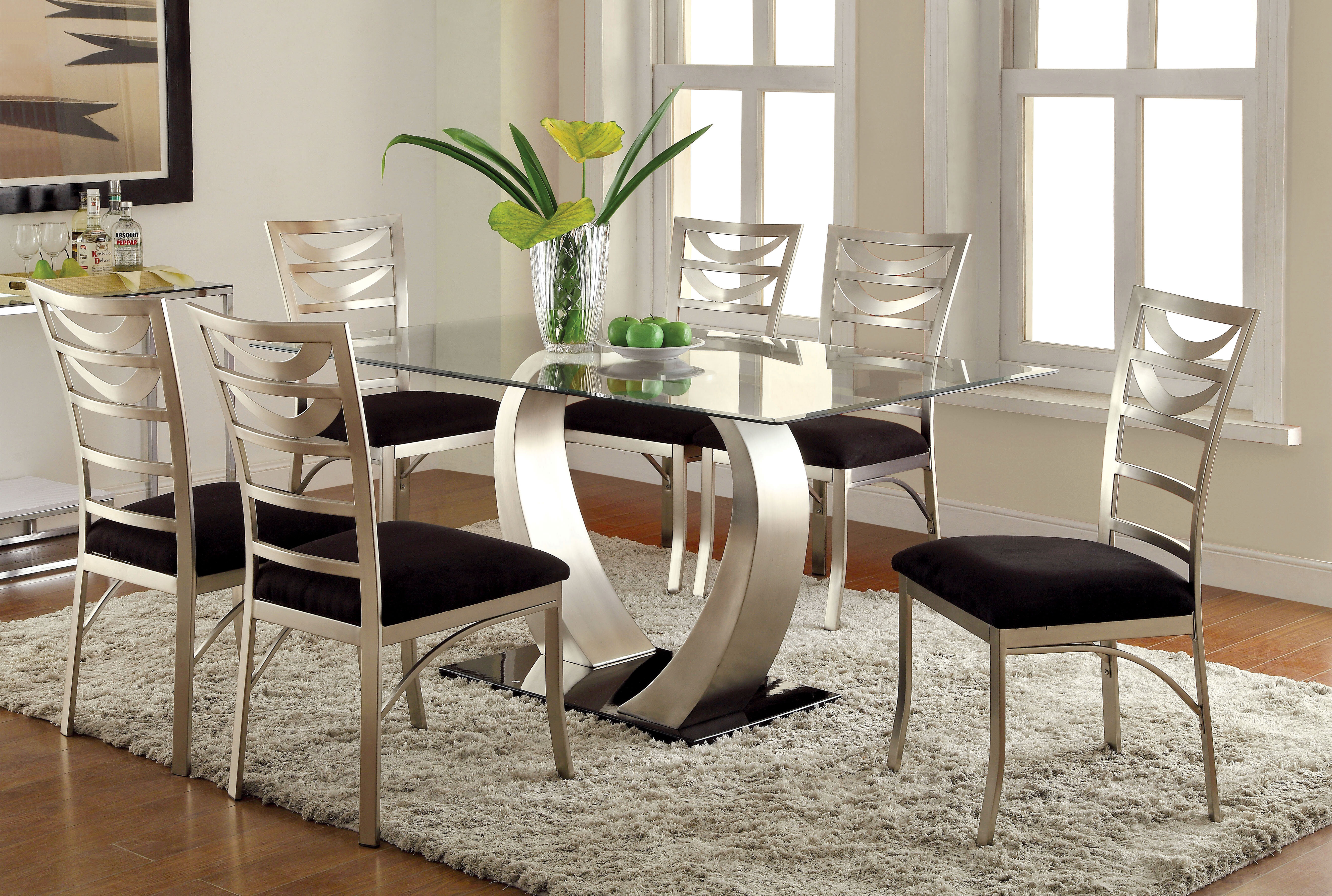 Picture of: Glass Kitchen Dining Room Table Sets You Ll Love In 2020 Wayfair