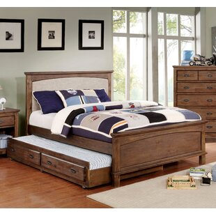 Millwood Pines Lucien Upholstered Panel Bed