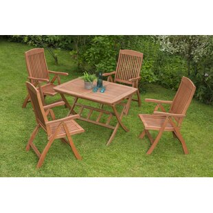 Scottsdale 4 Seater Dining Set By Sol 72 Outdoor