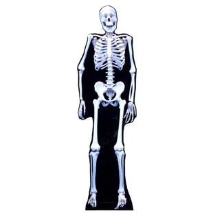 Halloween Skeleton Cardboard Standup By Advanced Graphics