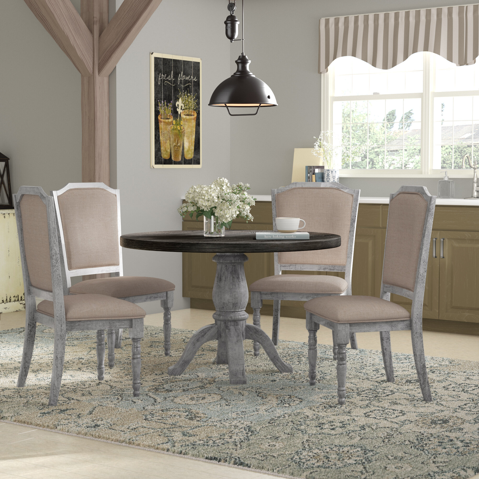 Image of: Cottage Country Kitchen Dining Room Sets You Ll Love In 2020 Wayfair