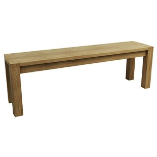 Aimee Wood Dining Bench By Natur Pur