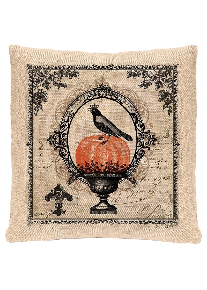 heritage lace vintage halloween pillow cover & reviews | wayfair