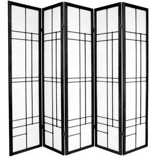 Clara Shoji 5 Panel Room Divider