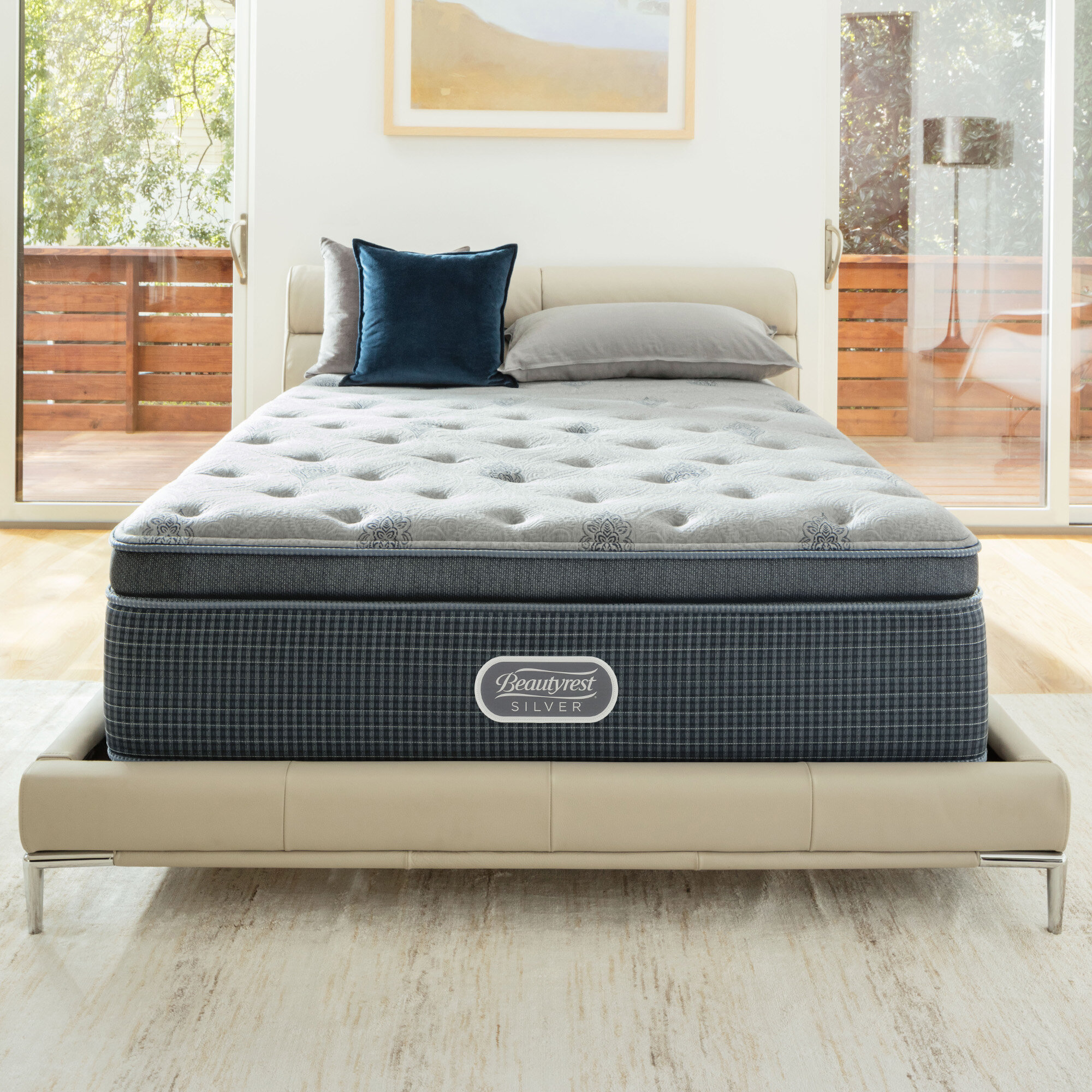 Simmons Beautyrest Beautyrest Silver 13 Plush Pillow Top Mattress