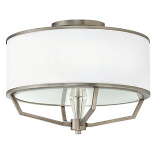 Wrought Studio Daye 3-Light Semi-Flush Mount