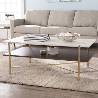 Ardmillan Coffee Table with Storage by Everly Quinn SKU:CA738281 Details