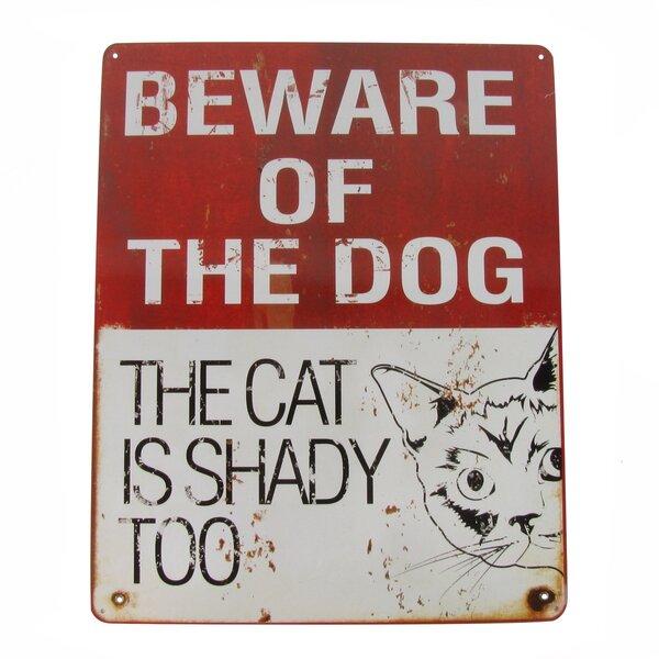 Dog Wash Customer Parking Only Violators Will Be Barked At Novelty Metal Sign