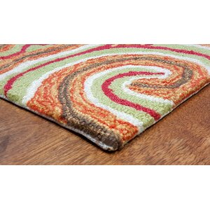 Bel Air Sunrise Kazakh Outdoor Orange Area Rug