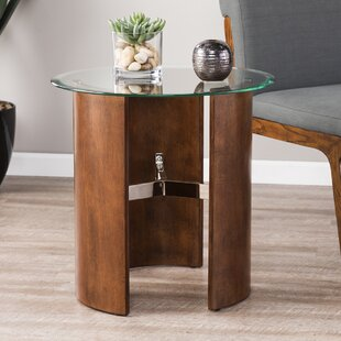 Matheus Round End Table