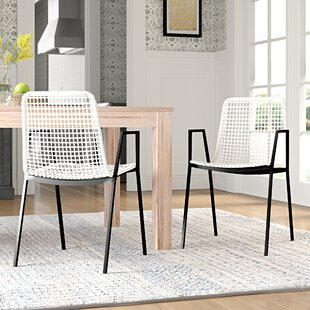 Check Prices Vicky Upholstered Dining Chair (Set of 2) by Mistana Reviews (2019) & Buyer's Guide