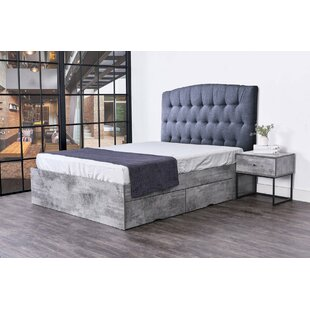 Paisley Storage Panel Bed by Alcott Hill
