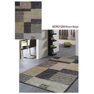 Bargain Moro Shag Hand-Tufted Gray/Black Area Rug ByRug Factory Plus