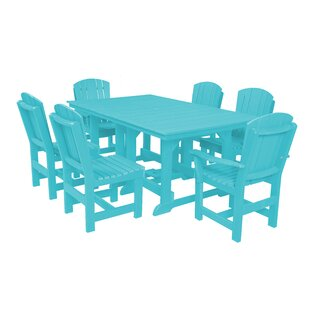 Rosecliff Heights Patricia 7 Piece Dining Set