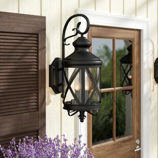 Gracie Oaks Luqi 4-Light Outdoor Wall Lantern