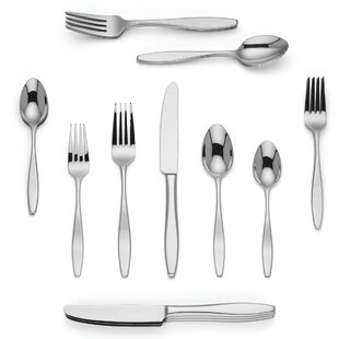 Malin 20-Piece 18/10 Stainless Steel Flatware Set, Service for 4
