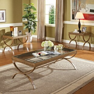 Quintin 3 Piece Coffee Table Set by Wildon Home ?