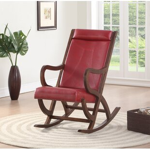 Box Rocking Chair by Charlton Home