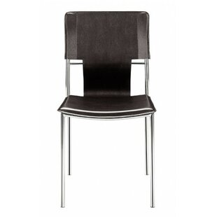 Landin Side Chair with Leatherette Seat a..