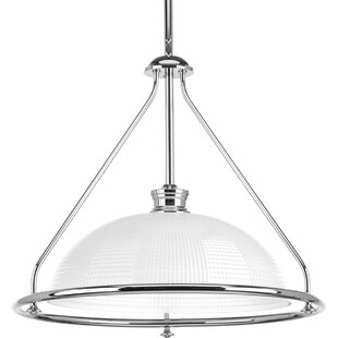 Latitude Run Feissal 1-Light Bowl Pendant