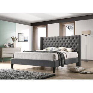 Check Prices Kathrine Upholstered Platform Bed by Birch Lane™ Heritage Reviews (2019) & Buyer's Guide