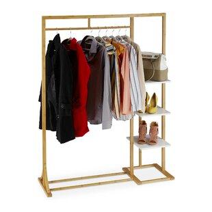 Dungannon 120cm Wide Clothes Rack By Brayden Studio