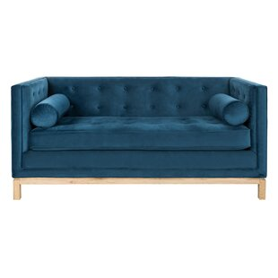 Hoehn Tufted Sofa with Arm Pillows