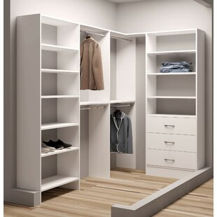 Shopping for Demure Design 59.5W - 93W Closet System By TidySquares Inc.