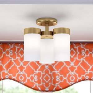 Kieron 3-Light Semi Flush Mount