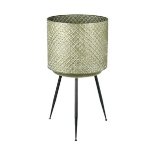 Richie Metal Plant Pot By Bloomsbury Market