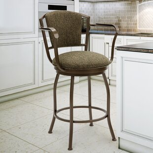 Sharbono 30 Swivel Bar Stool Red Barrel Studio
