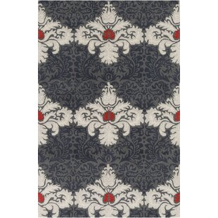 Looking for Jethro Hand Tufted Wool Grey/White Area Rug By House of Hampton