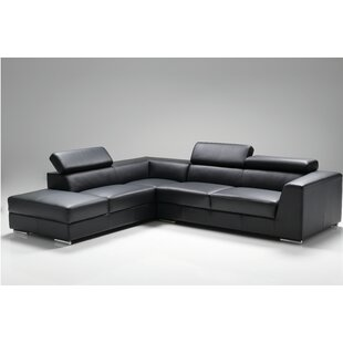 Cesca Leather Sectional