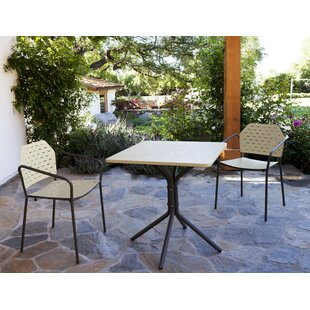 Les Jardins Fling 3 Piece Dining Set