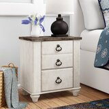 Drossett 2 - Drawer Nightstand in Whitewash