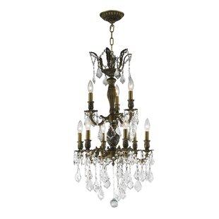 Astoria Grand Weisser 9-Light Candle Styl..