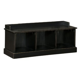 August Grove Springboro Wood Storage Bench