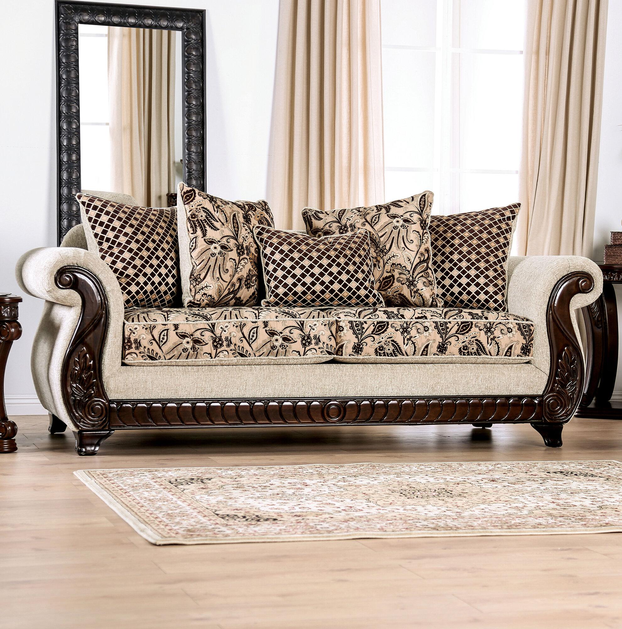 Surprising Renetta Rolled Arms Sofa Spiritservingveterans Wood Chair Design Ideas Spiritservingveteransorg