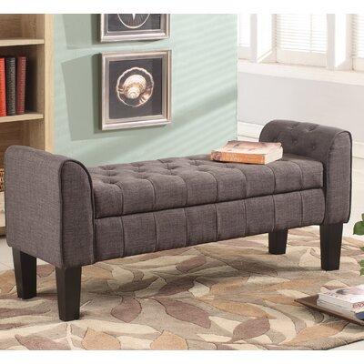 Groovy Darby Home Co Arborway Storage Ottoman Upholstery Color Gray Customarchery Wood Chair Design Ideas Customarcherynet