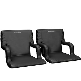 Reclining/ Folding Stadium Seat with Cushion (Set of 2) by Home-Complete