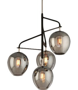 Brayden Studio Satchell 4-Light Sputnik Chandelier