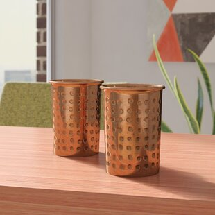 Oliveira 12 oz. Copper Moscow Mule Mug (Set of 2)