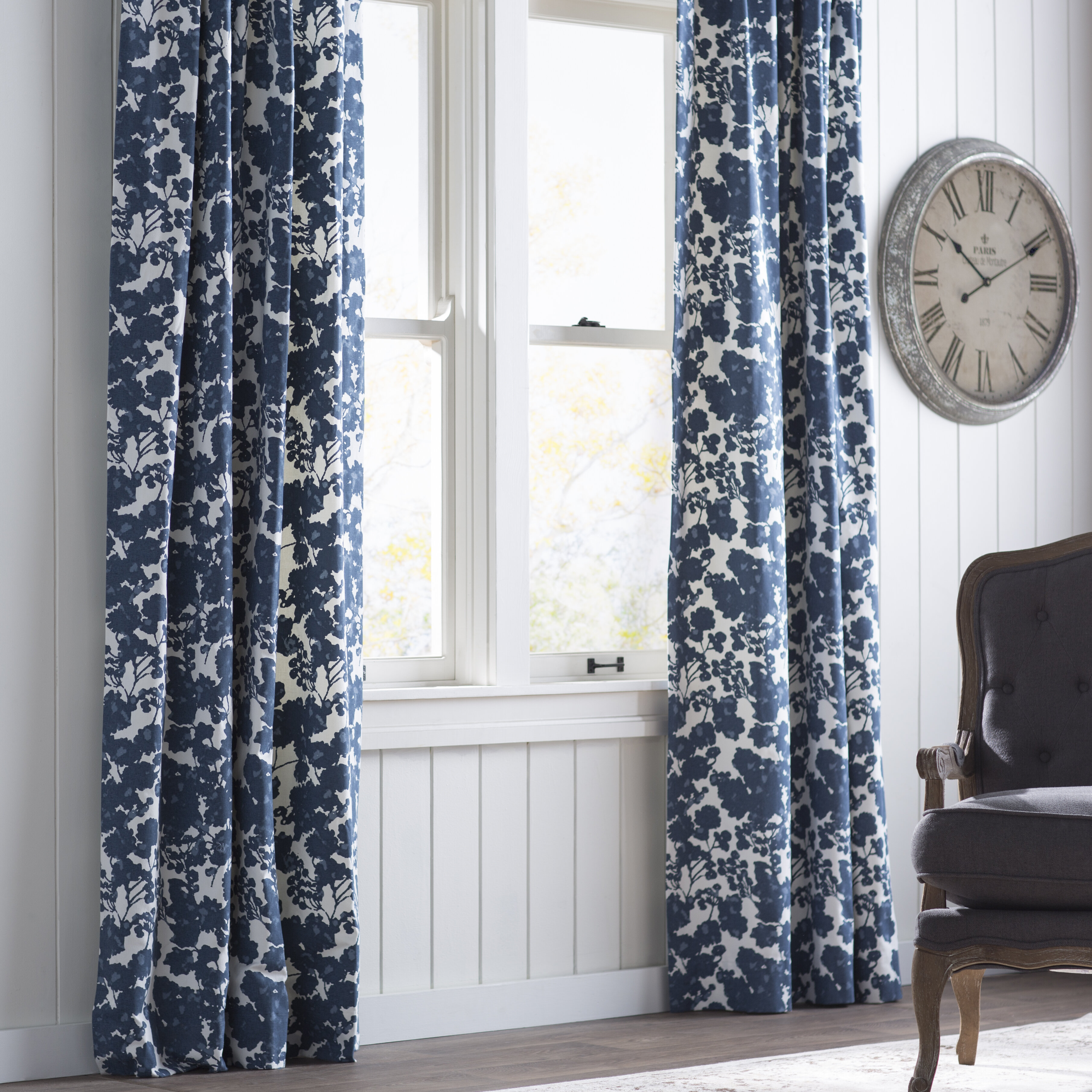 color curtain shower by curtains and hudson ink pin chambray ivy option