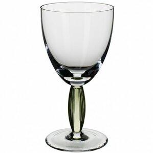 light green water goblet