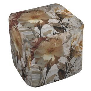 Blooming Cube Ottoman